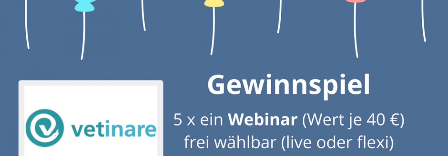 5x Gratisseminar von Vetinare im Wert von je 40€ gewinnen!