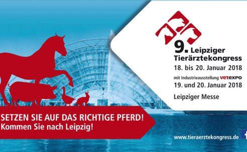 9. LEIPZIGER TIERÄRZTEKONGRESS: SETZEN SIE AUF DAS RICHTIGE PFERD – Kommen Sie nach Leipzig