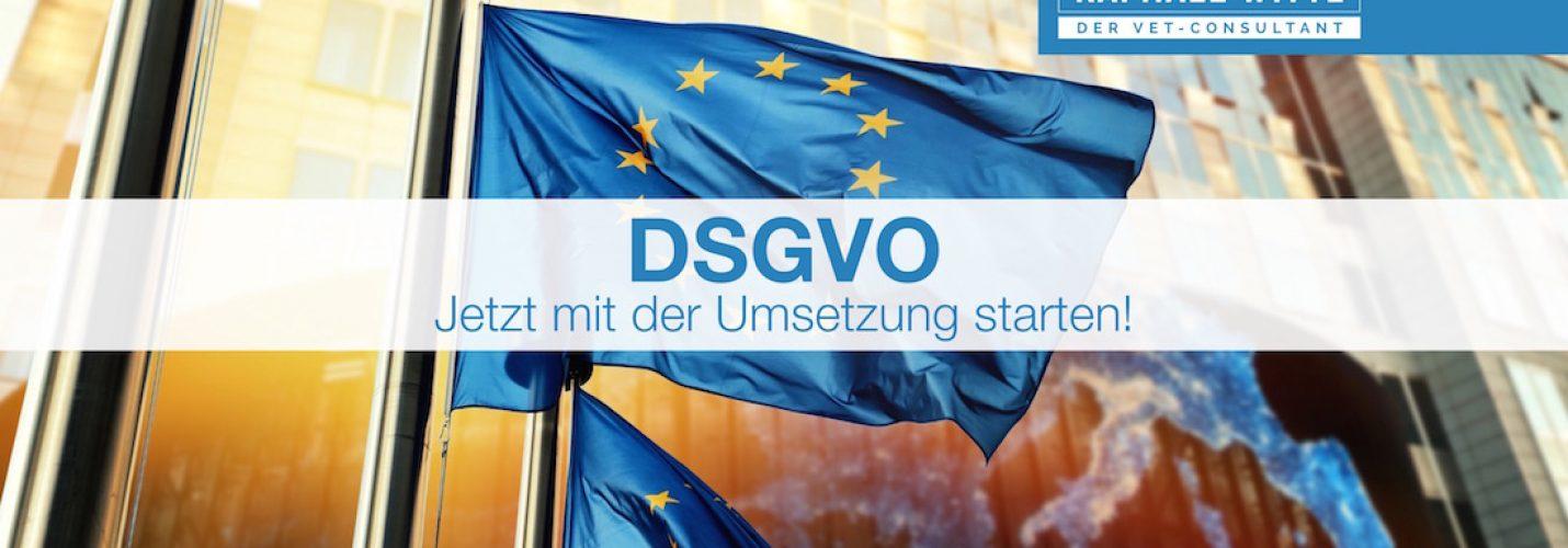 DSGVO in der Tierarztpraxis – jetzt starten!