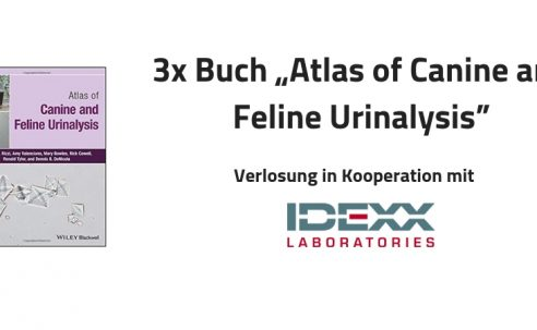 """1 von 3 Büchern """"Atlas of Canine and Feline Urinalysis"""" im Wert von 50 Euro in Kooperation mit IDEXX gewinnen"""