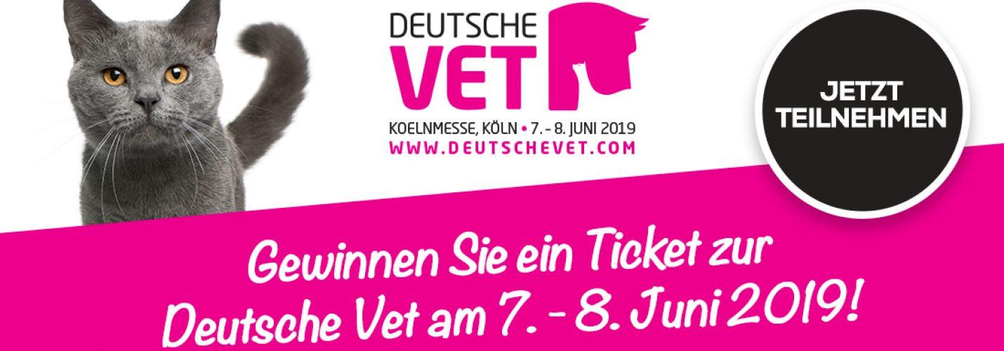 Gewinnen Sie ein Ticket zur Deutsche Vet