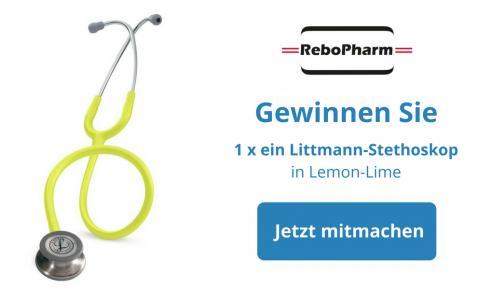 Gewinnspiel: Mitmachen und ein hochwertiges Littmann-Stethoskop von ReboPharm gewinnen